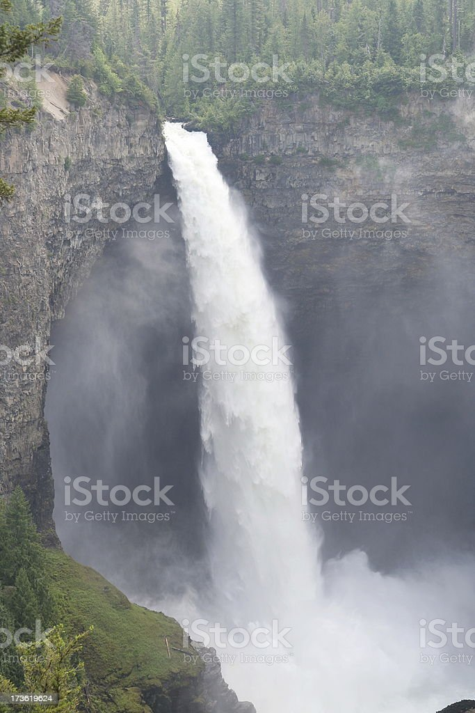 Helmcken Falls stock photo