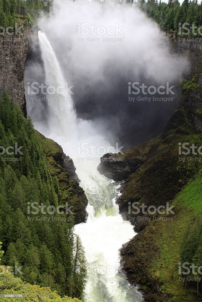 Helmcken Falls stock photo