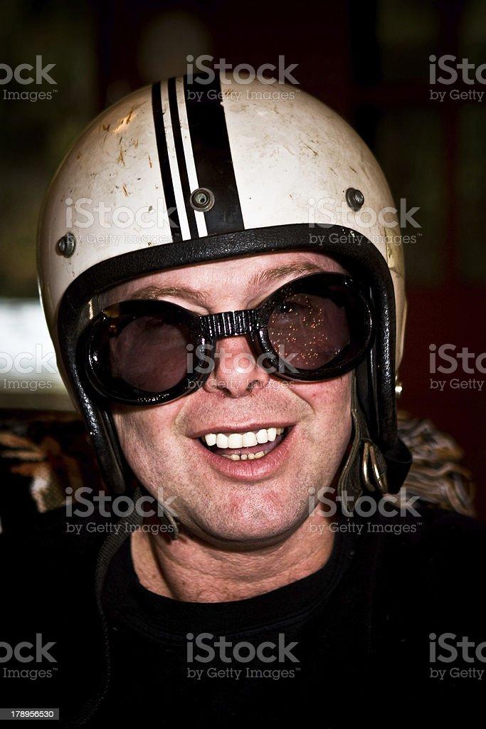 Helmet Head royalty-free stock photo