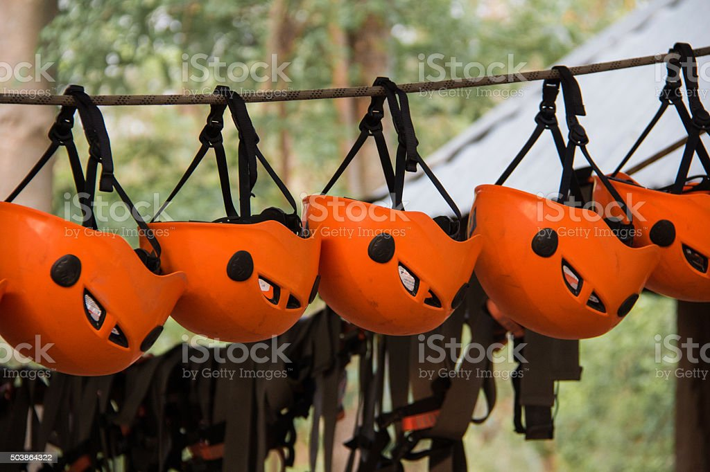 helmet line stock photo