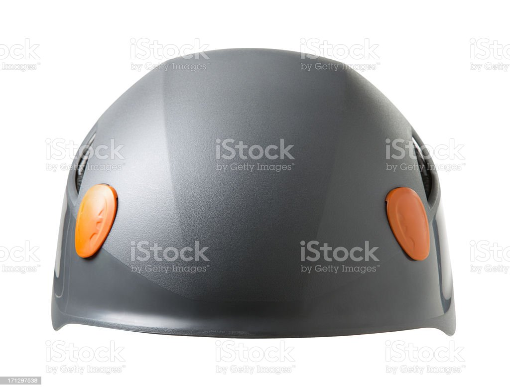 Helmet on White royalty-free stock photo
