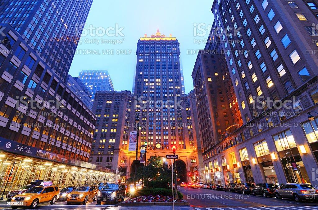 Helmsley Building on Park Avenue stock photo