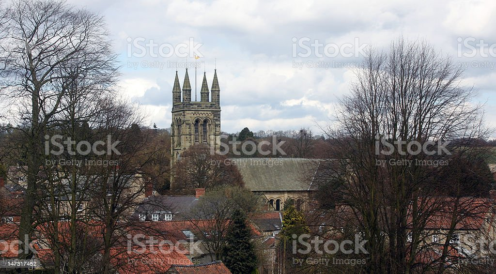 Helmsley Church royalty-free stock photo
