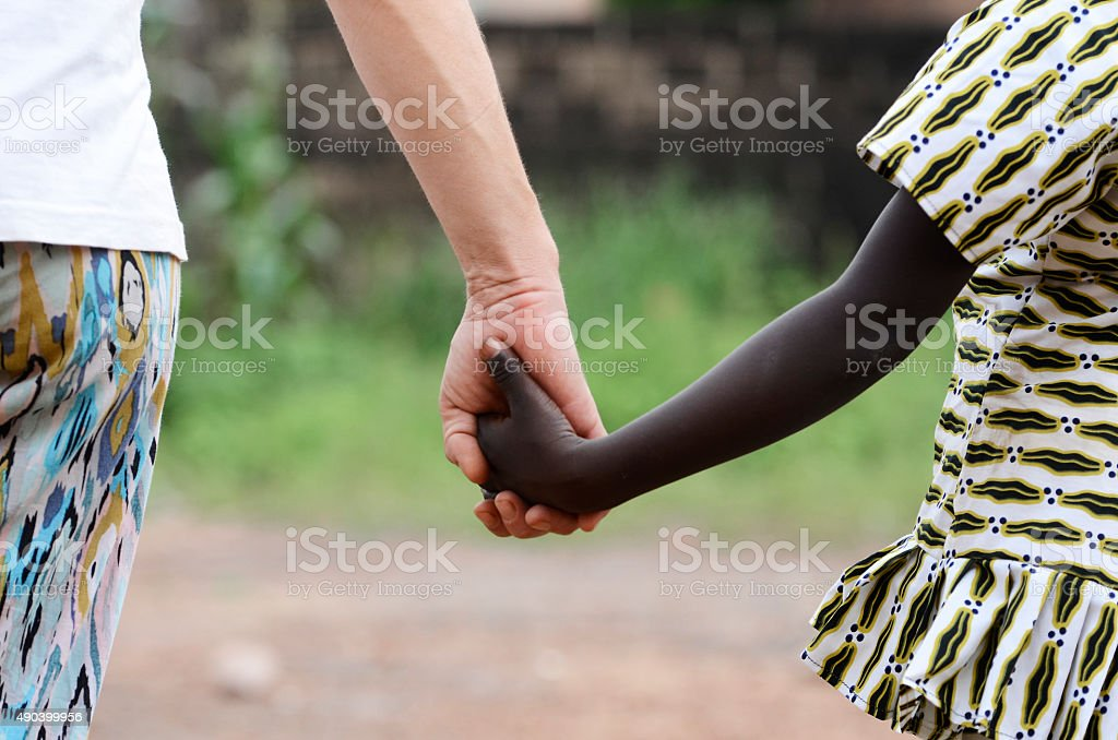 Help Africa - Volunteering in the World for Better Place stock photo