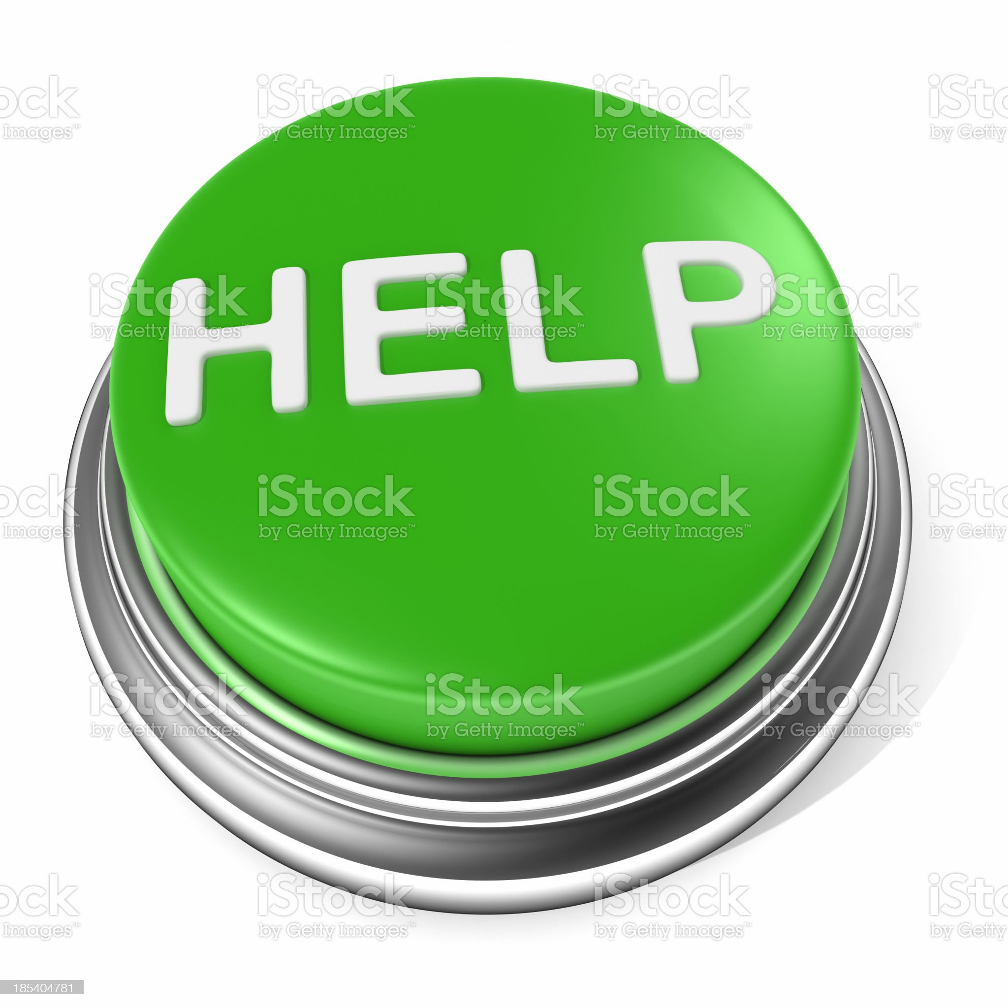help button icon royalty-free stock photo