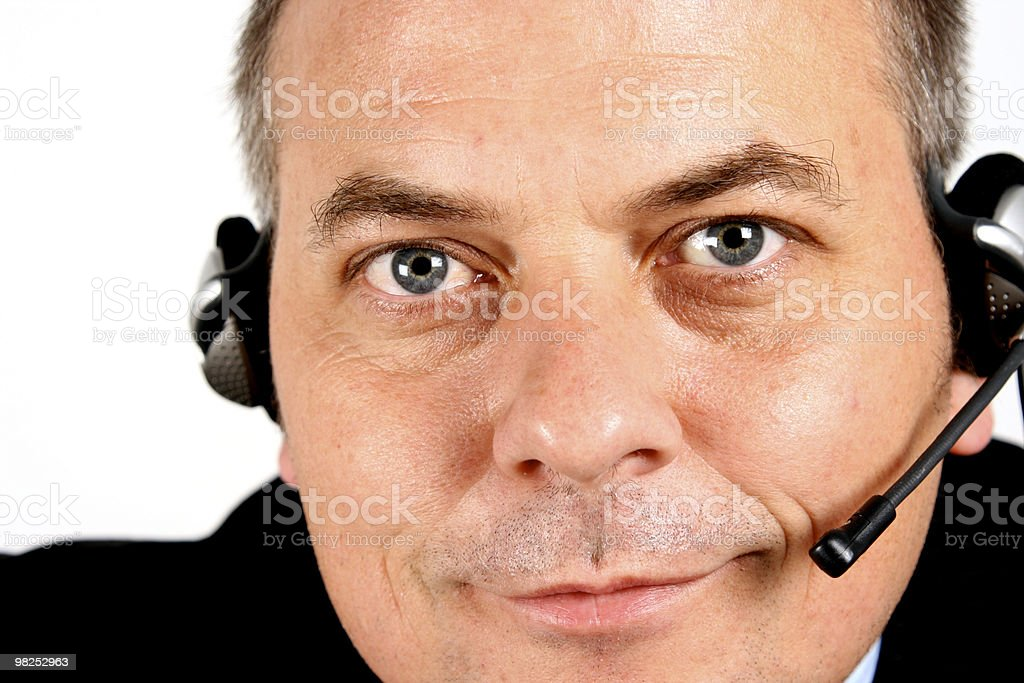 Help Desk royalty-free stock photo