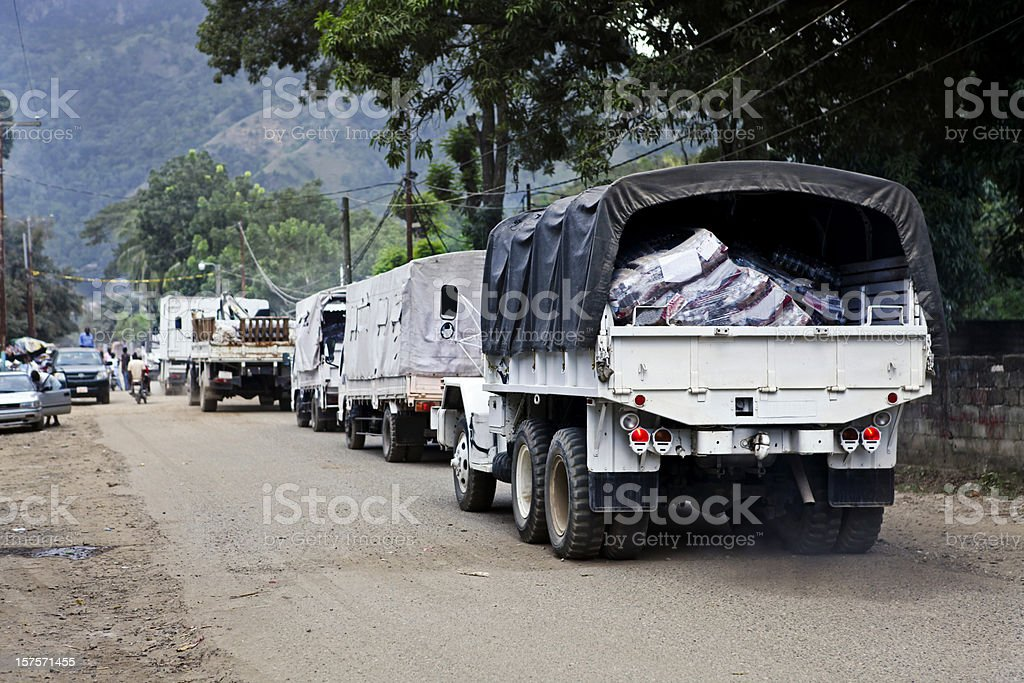 Help For Haiti stock photo
