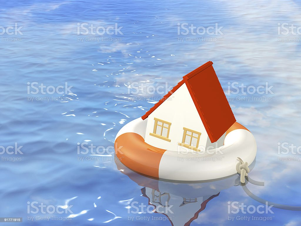 Help in a crisis situation royalty-free stock photo