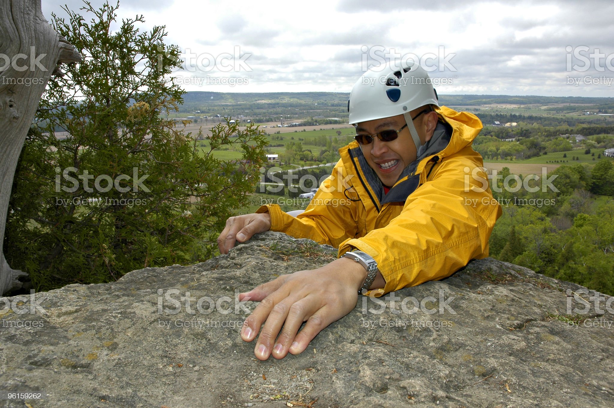 Help me I'm Falling! royalty-free stock photo