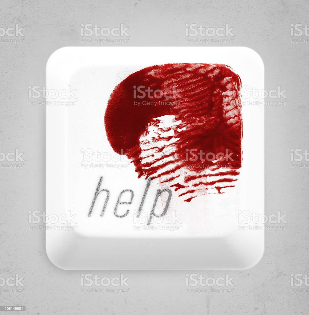 help me royalty-free stock photo