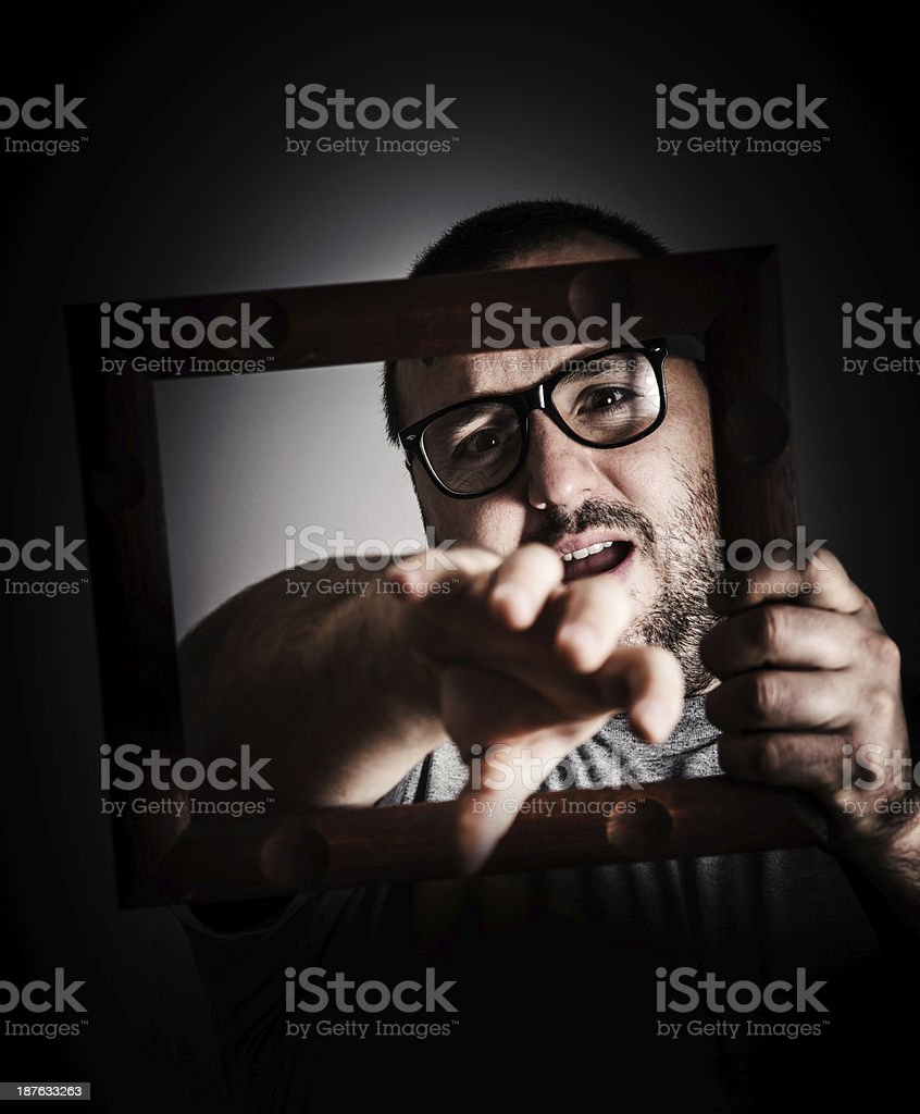 help me stock photo