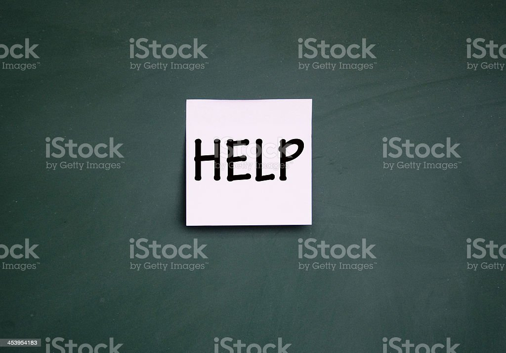 help note stock photo