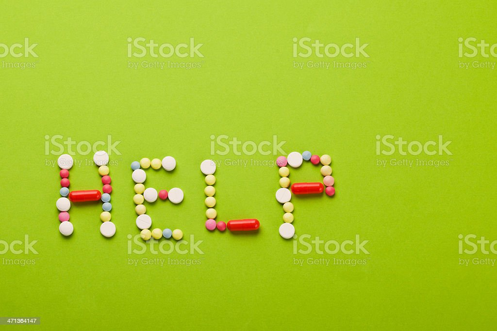 help of vitamins royalty-free stock photo