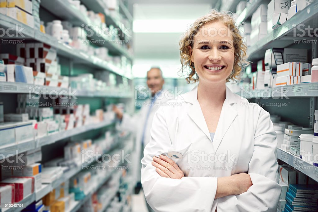 I help people achieve the best results from their medication stock photo