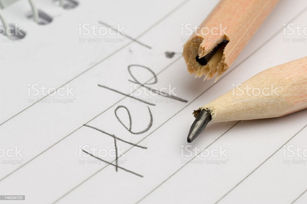help royalty-free stock photo