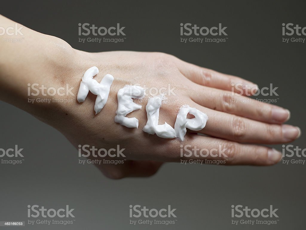 Help stock photo