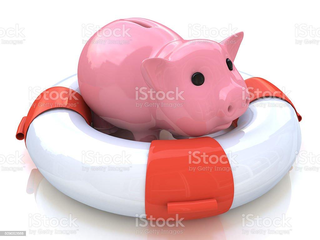help piggy bank stock photo