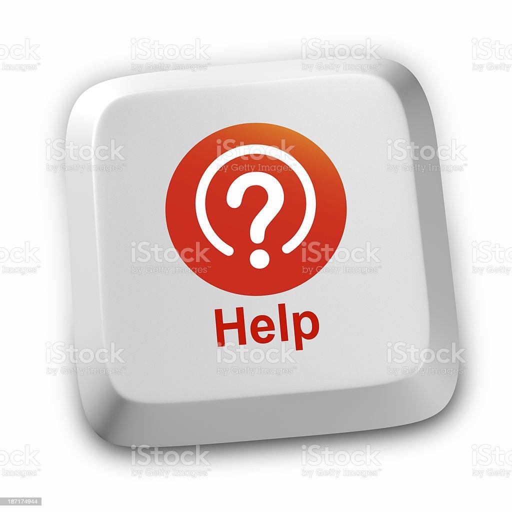 Help Question Mark Inquiries stock photo