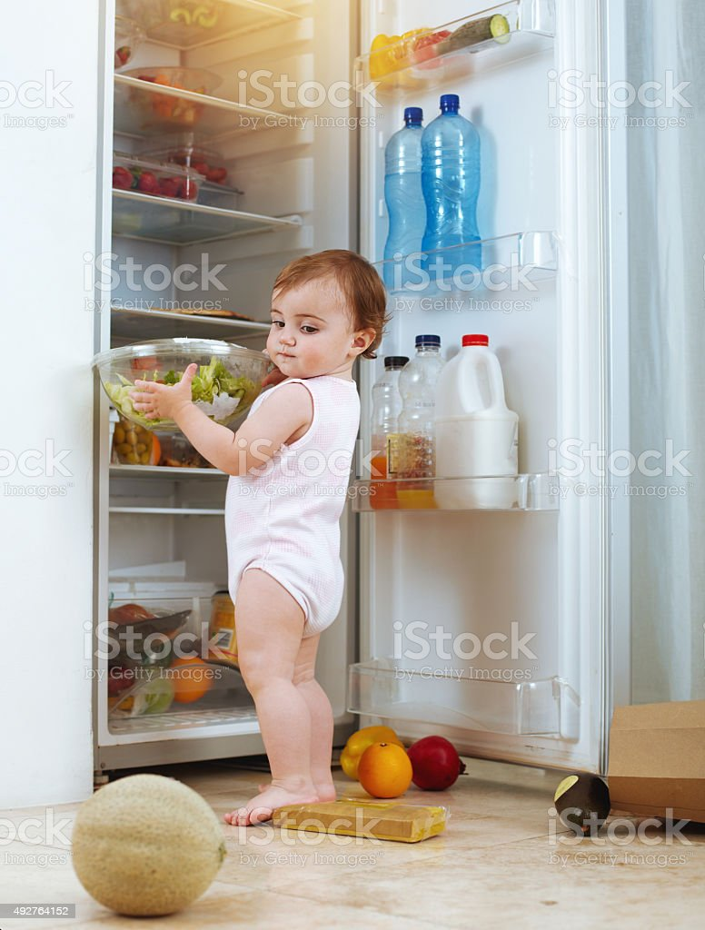 'Help with dinner', they said, 'It'll be fun,' they said stock photo