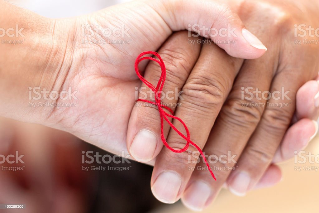 Helping Hand For Memory Loss stock photo