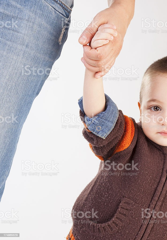 Helping hand. royalty-free stock photo
