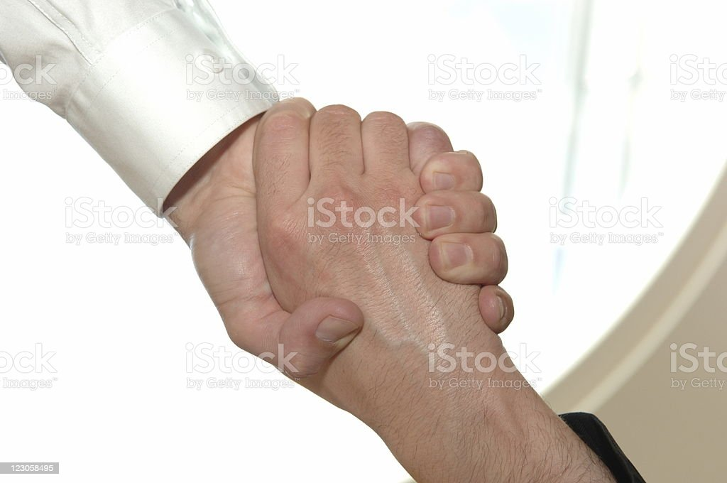 Helping hand XL royalty-free stock photo