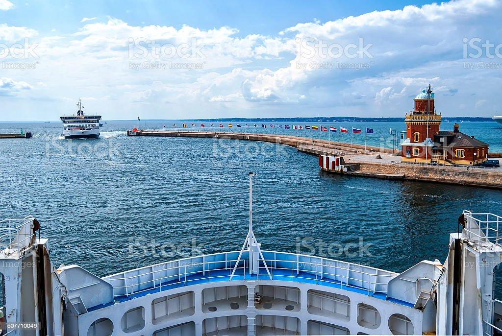 Helsingborg Passenger Ferries stock photo