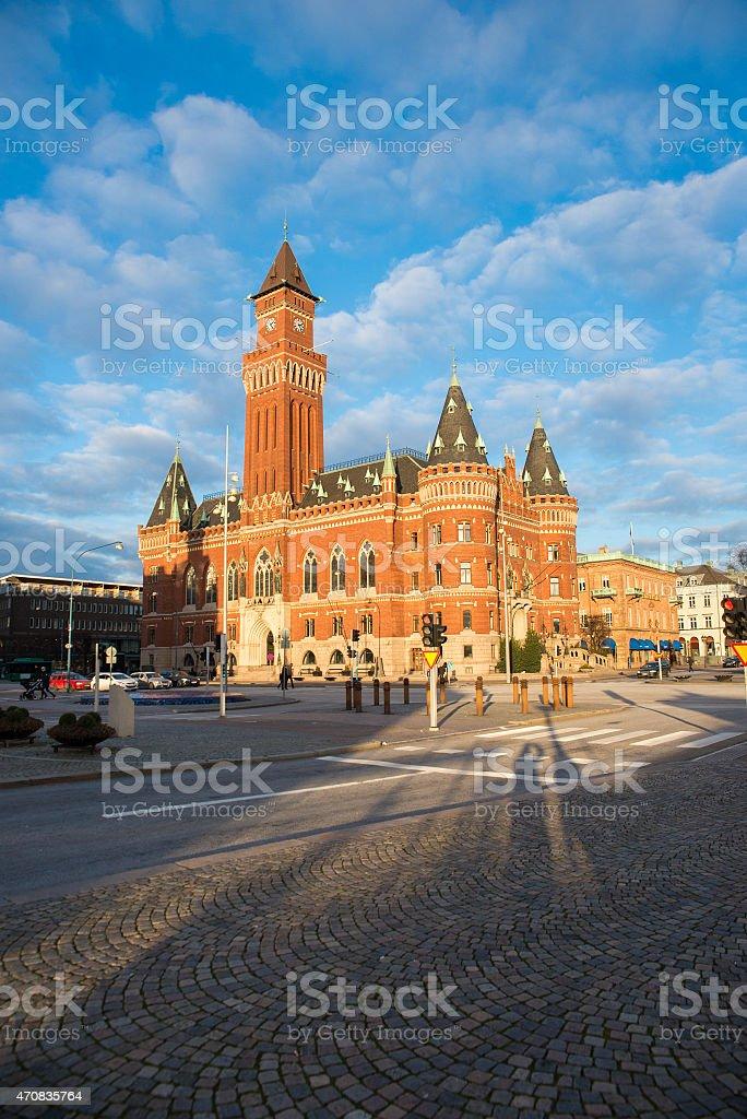 Helsingborg stock photo