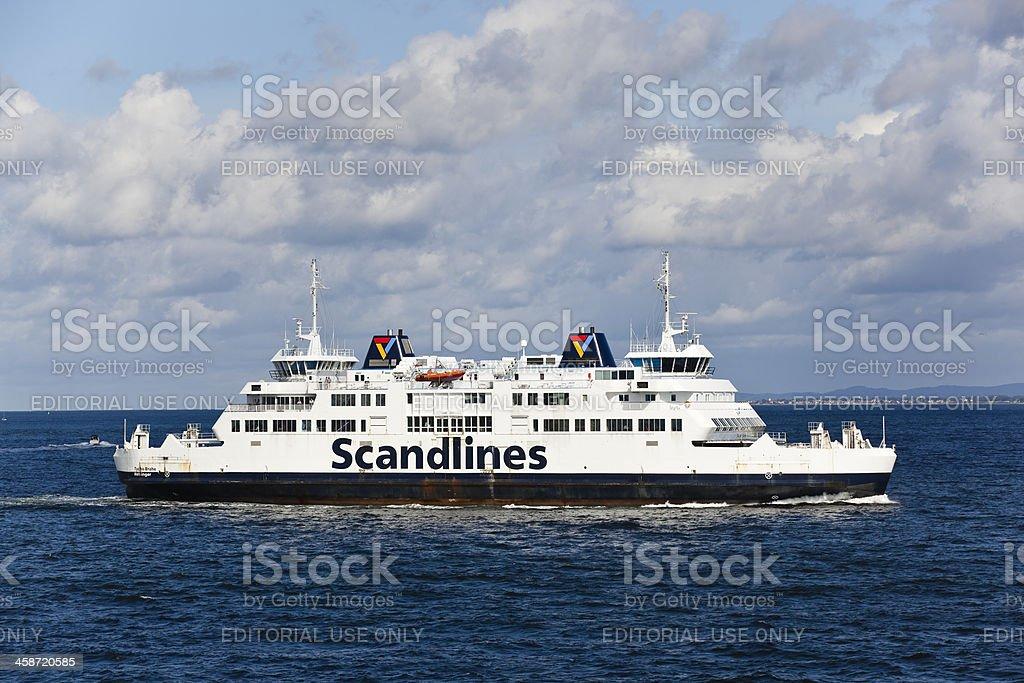 helsingborg, sweden: scandlines ferry stock photo