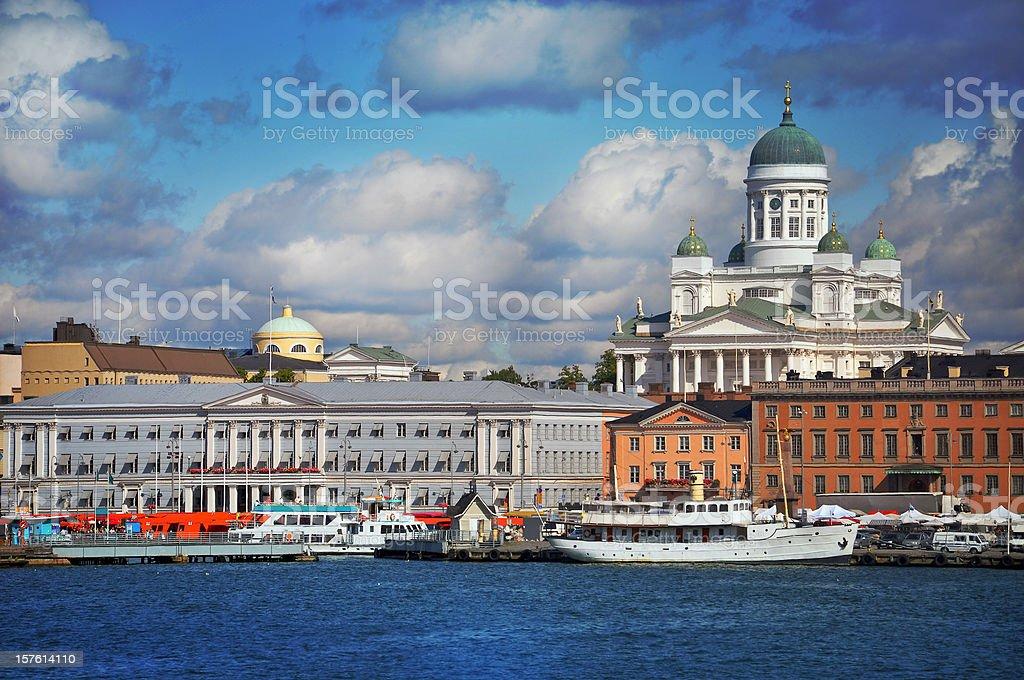 Helsinki by summer royalty-free stock photo