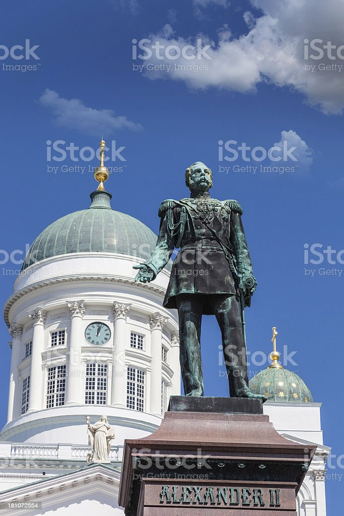 Helsinki Cathedral royalty-free stock photo