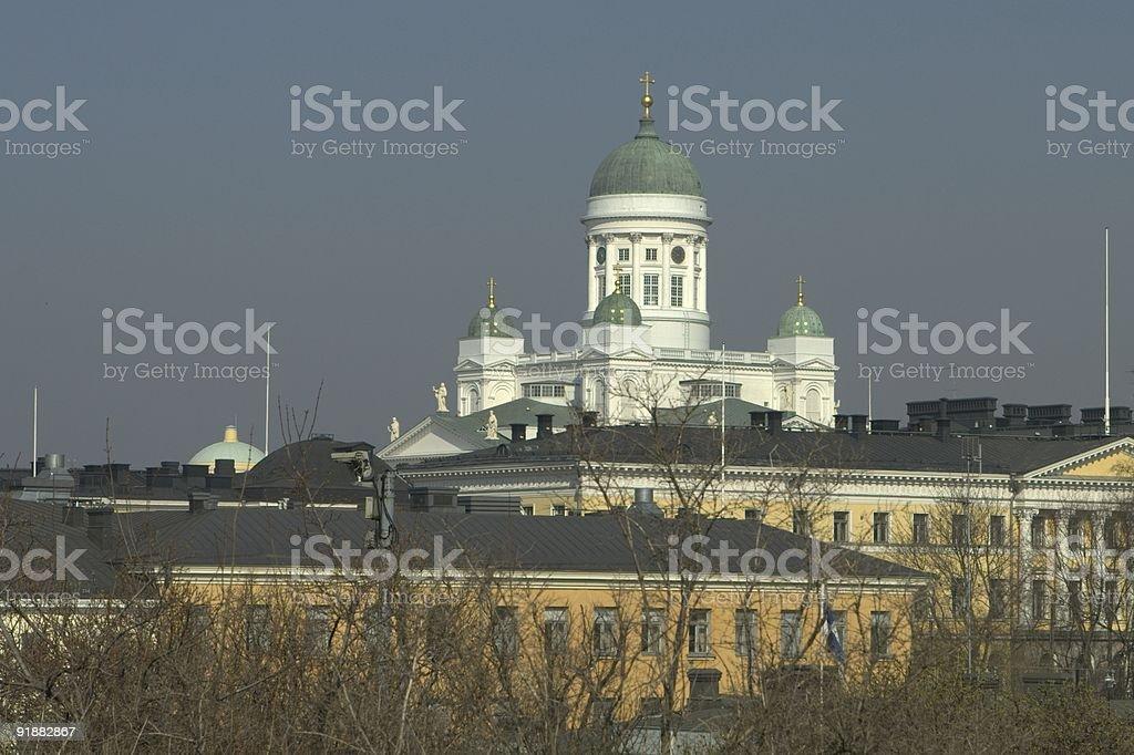 Helsinki Church royalty-free stock photo