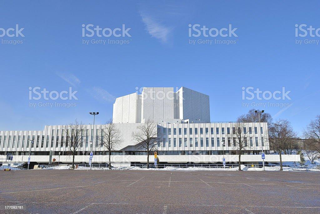 Helsinki. Congress Hall  Finlandia stock photo