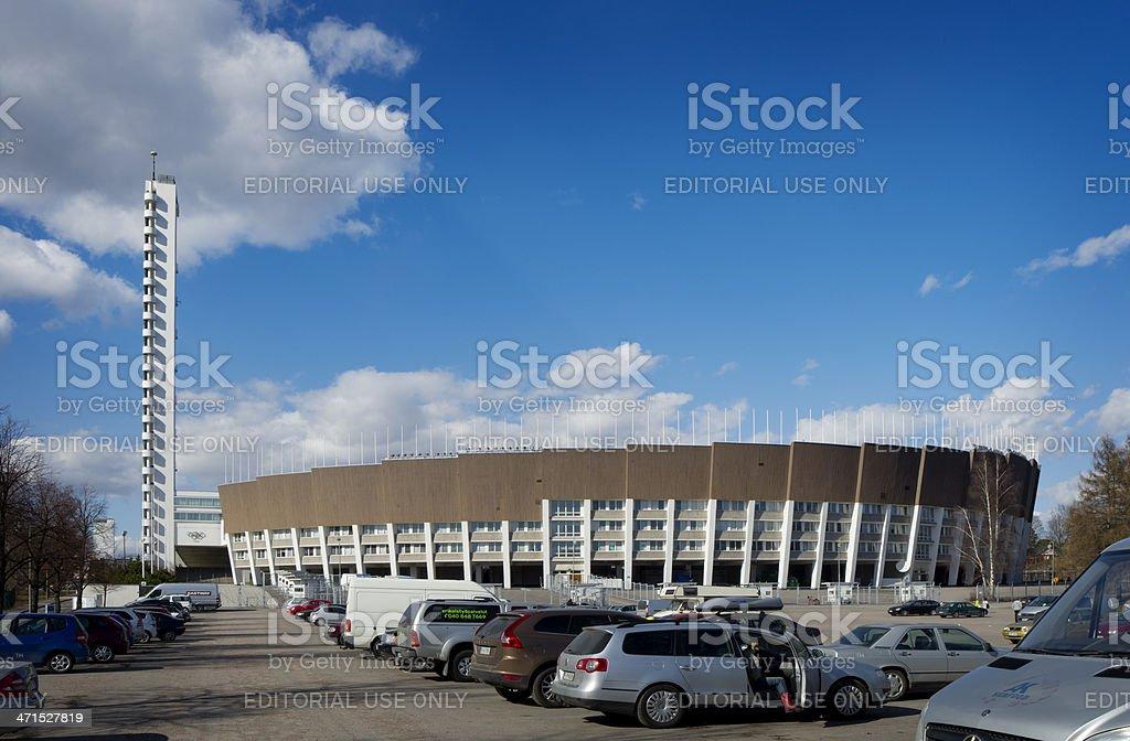 Helsinki Finland Olympic Stadium royalty-free stock photo