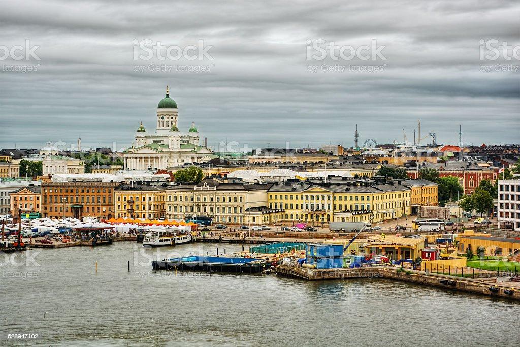 Helsinki HDR stock photo