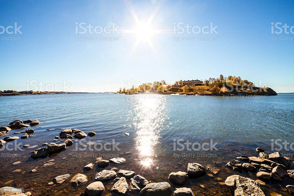 Helsinki, landscape panorama stock photo