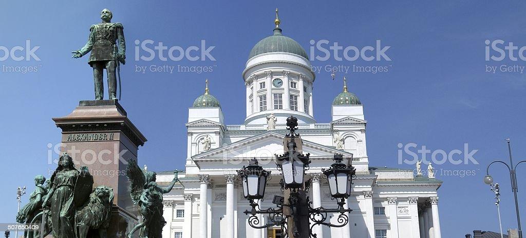 Helsinki Panorama stock photo