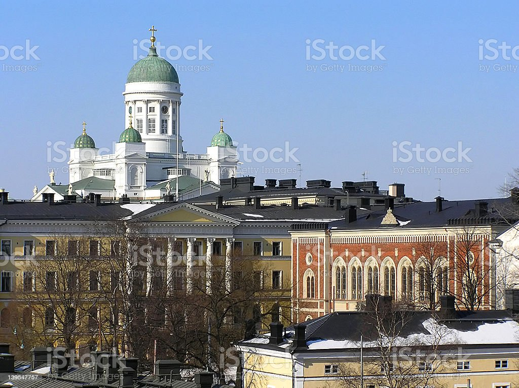 Helsinki royalty-free stock photo