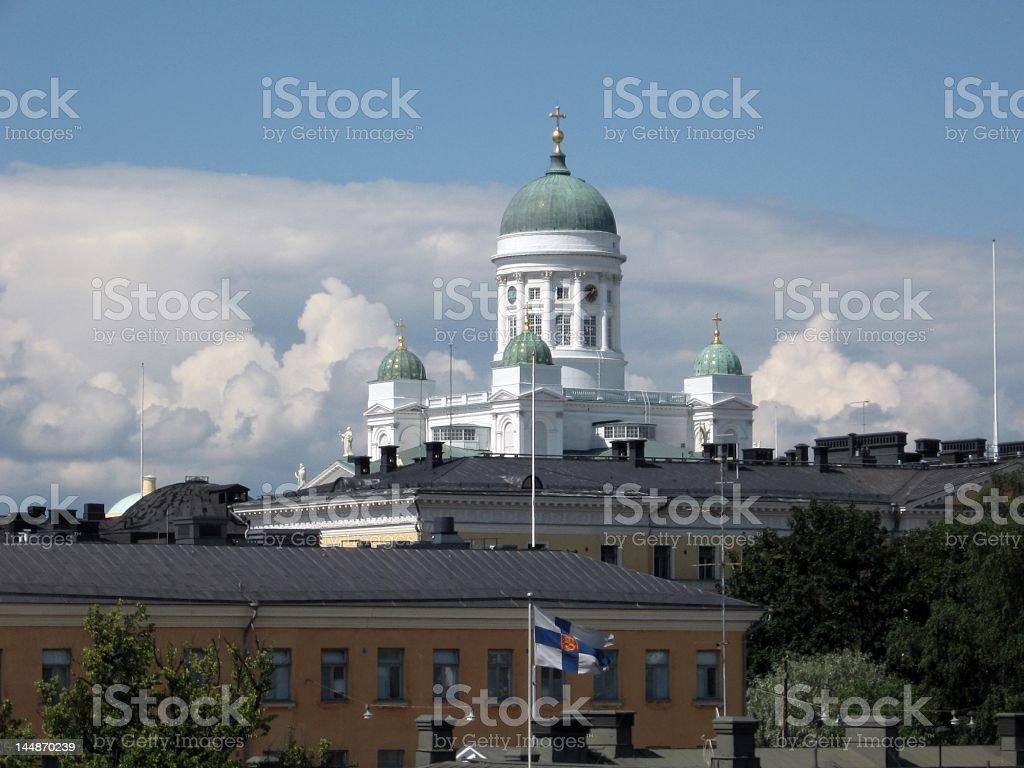 Helsinki royalty-free stock photo