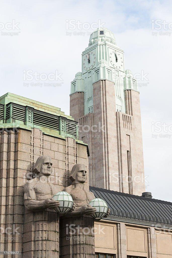Helsinki Railway Station royalty-free stock photo