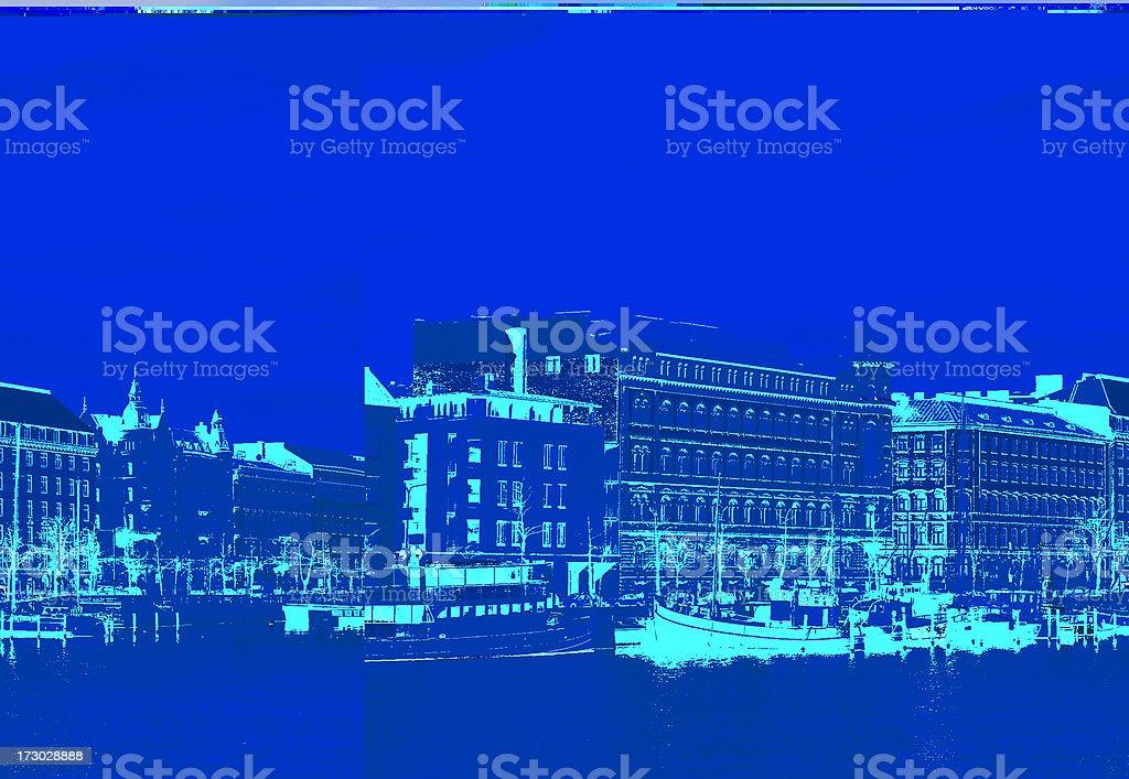 Helsinki Waterfront royalty-free stock photo