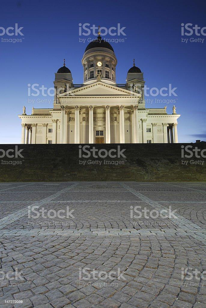 Helsinki_Cathedral royalty-free stock photo
