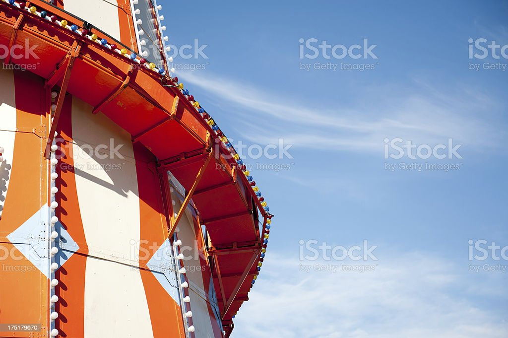 Helter Skelter - Fairground Ride stock photo