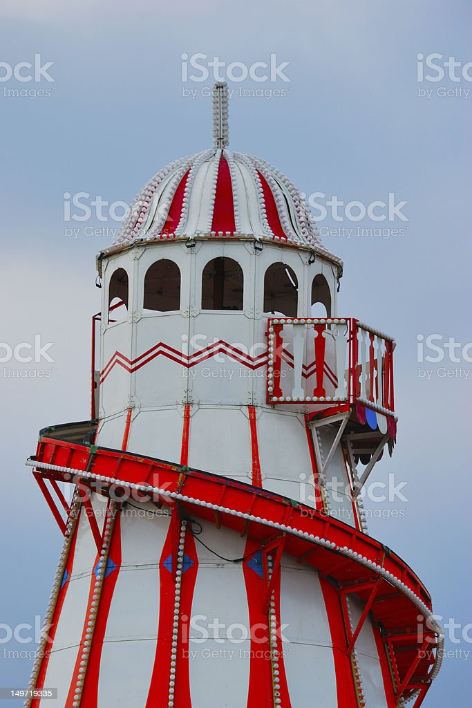 Helter Skelter royalty-free stock photo