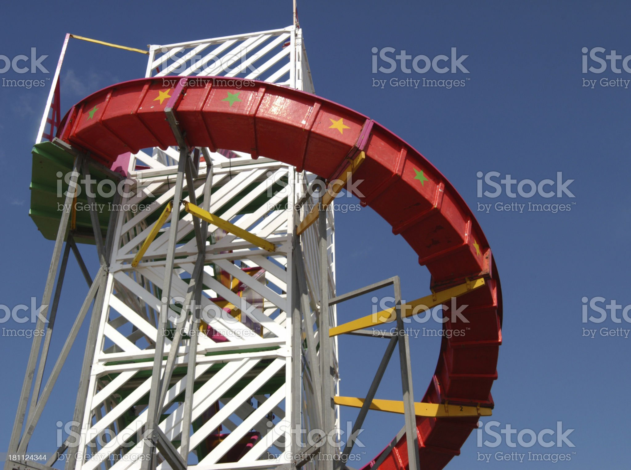 Helter Skelter #2 royalty-free stock photo