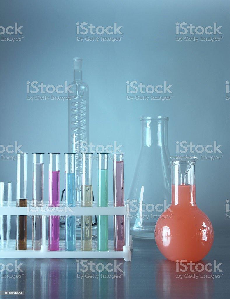 Сhemical equipment stock photo