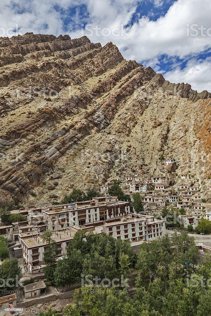 Hemis gompa, Ladakh, Jammu and Kashmir, India stock photo