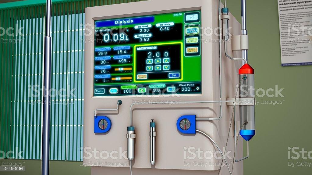 Hemodialysis stock photo