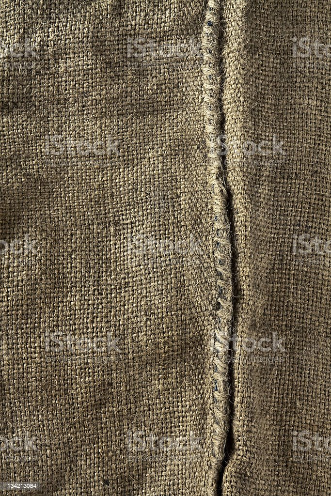 Hemp bag royalty-free stock photo