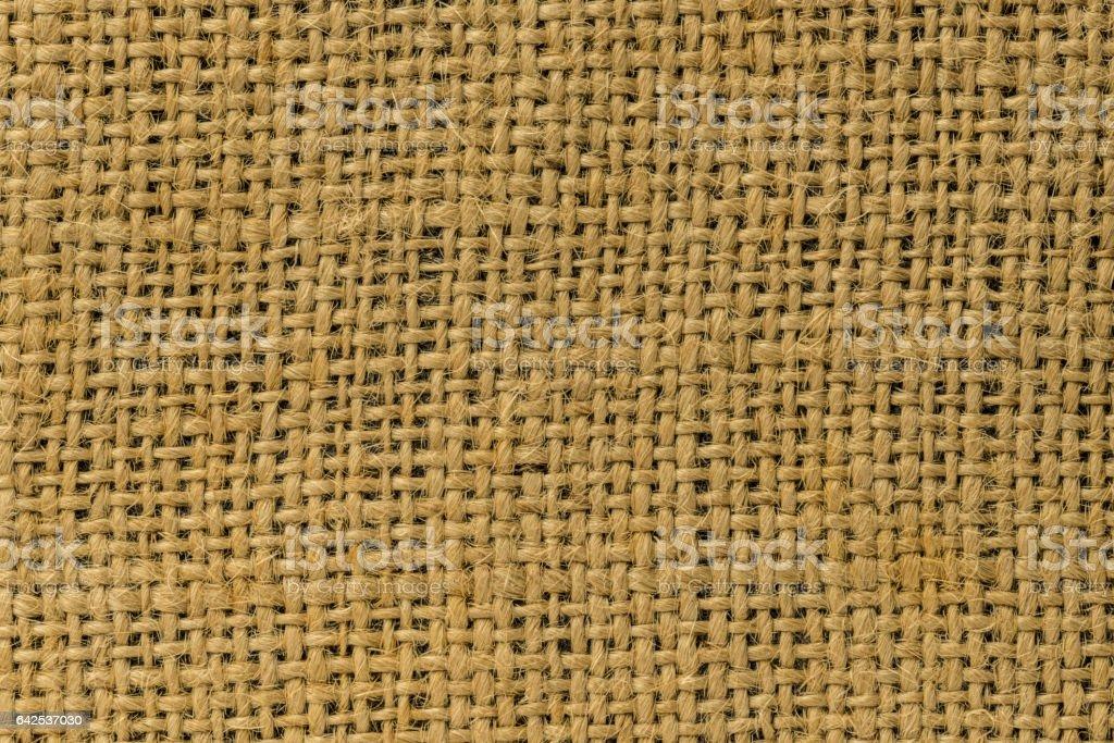 Hemp fabric stock photo